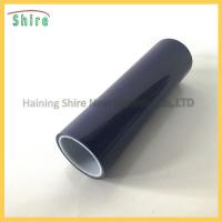 China Black Carpet Floor Protection Film Hard Floor Protector Tape Stable Adhering Capacity wholesale
