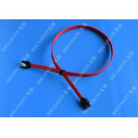 China HDD SATA III 6.0 Gbps Female To Female SATA Data Cable 7 Pin With Locking Latch wholesale