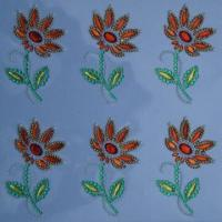 China Acrylic/crystal sticker with fashionable design, available in various sizes and designs, non-toxic wholesale