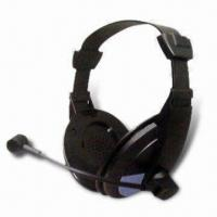 China Wired Headphones with 20Hz to 20kHz Frequency Response, OEM Orders are Accepted wholesale