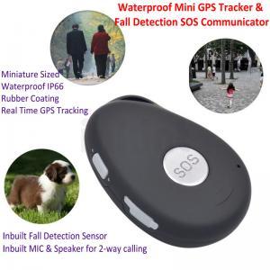 China Mini Waterproof 3G GSM Personal GPS Tracker Locator Elderly Fall Detection SOS Communicator Alzheimer Keyring EV07 wholesale