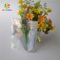 Quality Holographic Cosmetic Packaging Bag 100 - 160 Micron Thickness Environment for sale