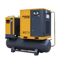 China Factory Wholesale 8- 13bar Air Compressor 10hp Air Compressor mounted tank ,dryer for Roast Room on sale