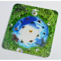 China OK3D 3D flip morph zoom animation explosion twist compress rotation zig zag lenticular printing mouse pads for promotion wholesale