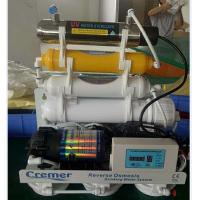 China Home Kitchen Reverse Osmosis Water Filtration System 7 Stages Mineral Uv Lamp wholesale