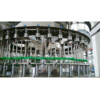 China Industrial 3 In 1 Automatic Liquid Bottle Filling Machine For PET Bottles 1000bph - 24000bph wholesale