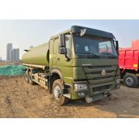China 15CBM Fuel Oil Tanker Truck 336HP For Army Use , Fuel Oil Delivery Trucks wholesale