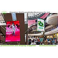 China outdoor p4  full color hanging led display , 1/8 scanning with die casting aluminium wholesale