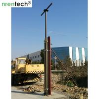 Quality 9m lockable pneumatic telescopic mast 200kg payloads NR-2200-9000-200L telecom antenna mast for sale