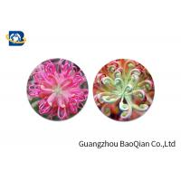 China Home Decoration 3D Lenticular Coasters Cup Placemat Beautiful Flower Pattern wholesale