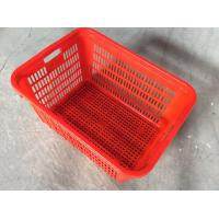 China Storage turnover large plastic plastic crates for fruits and vegetables wholesale