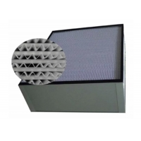 China Aluminum Frame H13 HEPA Air Filter For Purification System wholesale