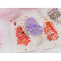 China acrylic invitation magnetic wedding and envelope card double layers flower wholesale