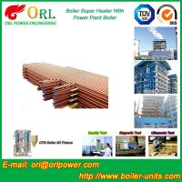 Buy cheap 30MW Unit Steam Super Heater Coils , Convective Superheater In Boiler Once Through from wholesalers
