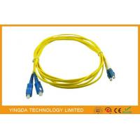 China GPON SC / LC Fiber Optic Patch Cord Cable , ST - LC Fiber Patch Cord Corning Fiber on sale