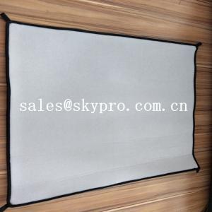 China Soft Loop Fabric Mats Waterproof Neoprene Fabric Roll OK Fabric Cushion wholesale