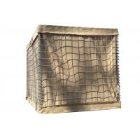 China SX-3315 4315 Army Hesco Bastion Barrier Sand Wall For Flood Control on sale