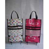 Quality Folding Wheeled Shopping Trolley Cart Bag for sale