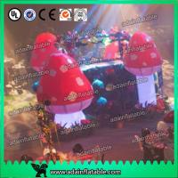 China Standing Inflatable Lighting Decoration Giant Inflatable Mushroom For Indoor wholesale
