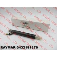 Quality BOSCH Genuine diesel fuel injector 0432191376 for DEUTZ 02112633, 0211 2633 for sale