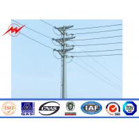 China Anti - Corrosion Gr50 Electrical Power Pole With 620 Mpa Ultimate Tensile Strength on sale