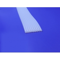 China Transparent Platinum Cured Medical Grade Silicone Tubing on sale