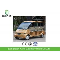 China Free Maintenance Battery 72V Motor 8 Seater Electric Sightseeing Bus For Public Transportation wholesale