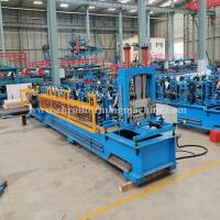 China Machinery Metal Hydraulic C Purlin Roll Forming Machine Steel Roof Truss Making wholesale