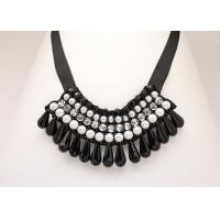 China Customized Acrylic Beaded Collar Trims, Beading Necklace For Women on sale
