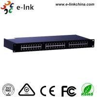 China 24 Ports 10 / 100 / 1000M Ethernet POE Switch , Power Over Ethernet Switch LNK-SPD2400G wholesale
