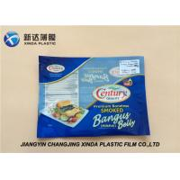 China Oxygen Resistant 3 Side Heat Seal Plastic Bags for Sea Food Packaging CE / ROHS wholesale