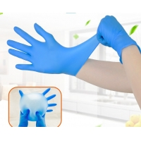 Buy cheap Anti-Static Nitrile Examination Gloves Powder Free Gloves Nitrile Gloves 100pcs from wholesalers