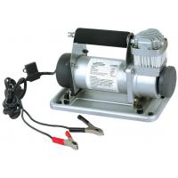 China Metal Vehicle Air Compressors Portable Silver Fast Inflation12V 150 Psi Air Compressor wholesale