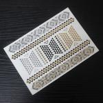 China custom flash gold tattoo dongguan factory wholesale