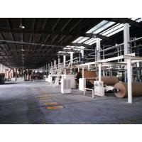 China High Speed 1400mm Corrugated Cardboard Production Line With 1 Year Warranty on sale