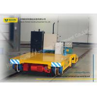 China Warehouse Transferring Flat Rail Guided Vehicle , Cargo Heavy Duty Cart Trolley wholesale