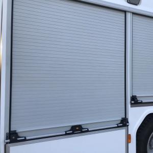 China Outdoor Installed Aluminium Window Roller Shutters (Fire Truck) on sale