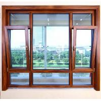 China Heat Insulated Aluminum Tilt And Turn Windows Wind Resistance Space Saving on sale
