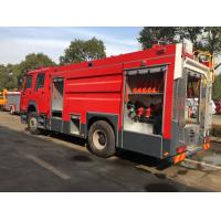 China 1000L fire truck light tower water tower fire trucks with led light barfire fighting truck price on sale