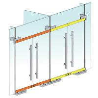Quality Less Noise Floor Spring Door Control System With Closing Angle 116 Degrees for sale