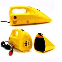 China Yellow Portable Car Vacuum Cleaner 12 Voltage 35w-60w For Choice, Made in China wholesale