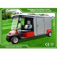 China EXCAR A1H2 / EC Emergency Golf Carts With Closed Cargo Bed Aluminum Chassis wholesale