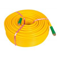 China Yellow Chemical Sprayer Hose , Agriculture PVC Pipe For Chemical Water Delivery wholesale