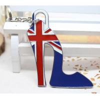 China Union Jack  high heels  keychain wholesale