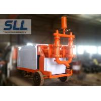 China Fully Hydraulic Cement Mortar Pump Mobil Concrete Pump Fast Speed 110L min wholesale