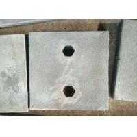 China Chrome-Moly Steel wear plates and maching parts are testings before delivery wholesale