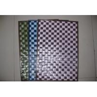 China plastic woven placemat wholesale