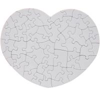 China Suede Printable Photo Jigsaw Puzzle For Girls Sublimation Blanks 23.5*19.5cm wholesale
