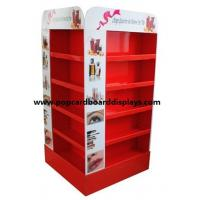 Quality Red Pop Cardboard display with glossy lamination for Christmas Promotional for sale