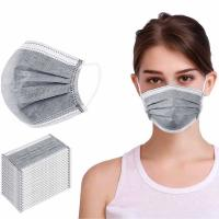 China Earloop Style Disposable Non Woven Face Mask Effectively Remove Unpleasant Smell wholesale